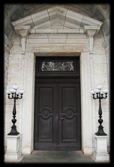 a door at the semperopera dresden, 2008